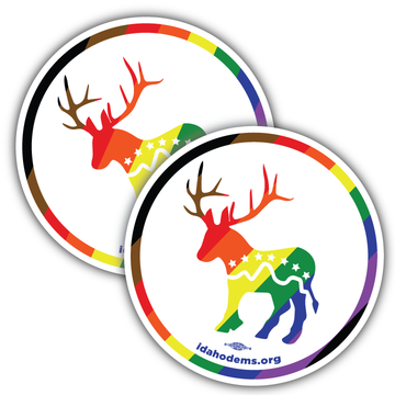 "Donkalope Pride (4"" x 4"" Vinyl Sticker -- Pack of Two!)"