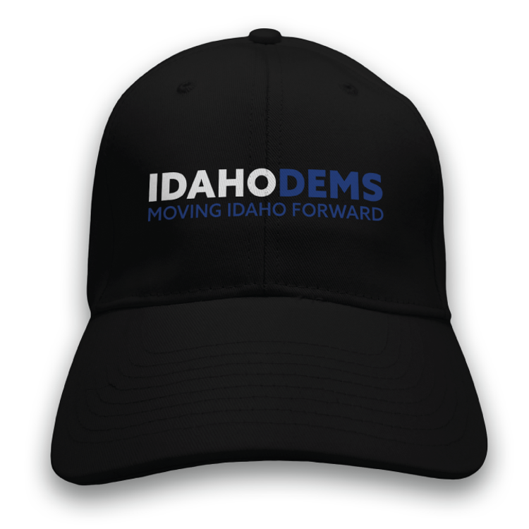 Moving Idaho Forward (Black Baseball Cap)