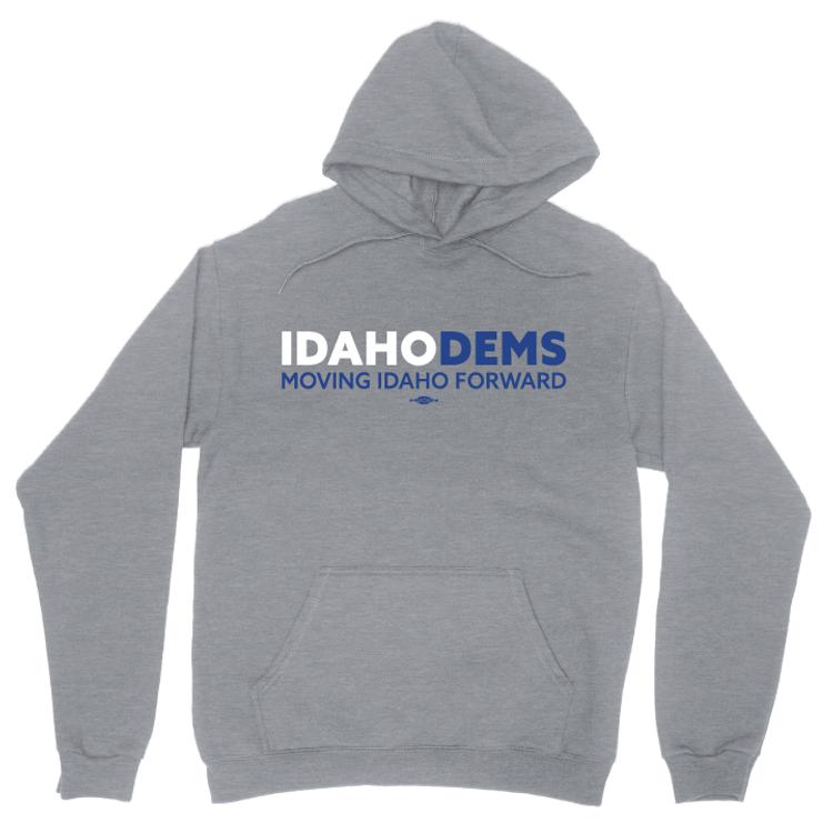 Moving Idaho Forward (Dark Ash Pullover Hoodie)