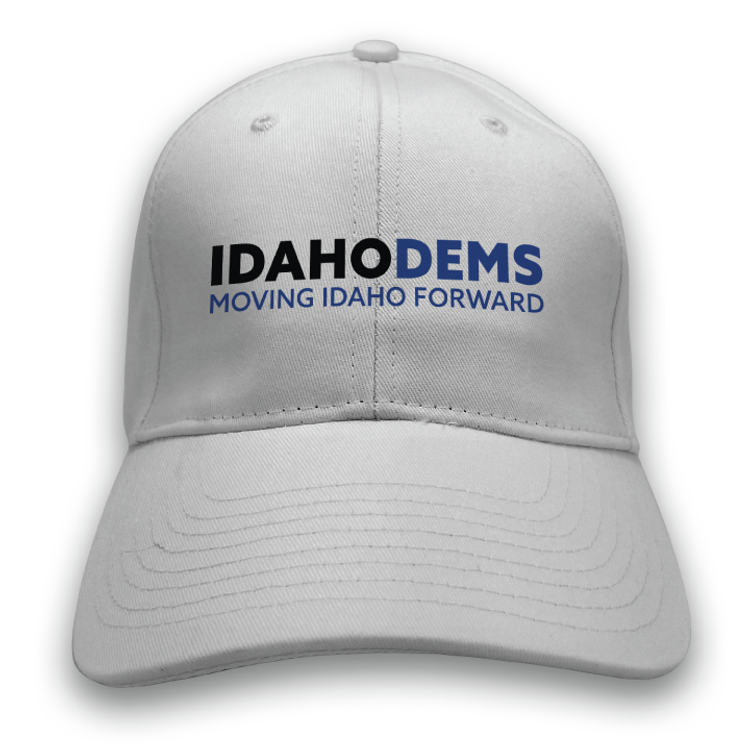 Moving Idaho Forward (White Baseball Cap)