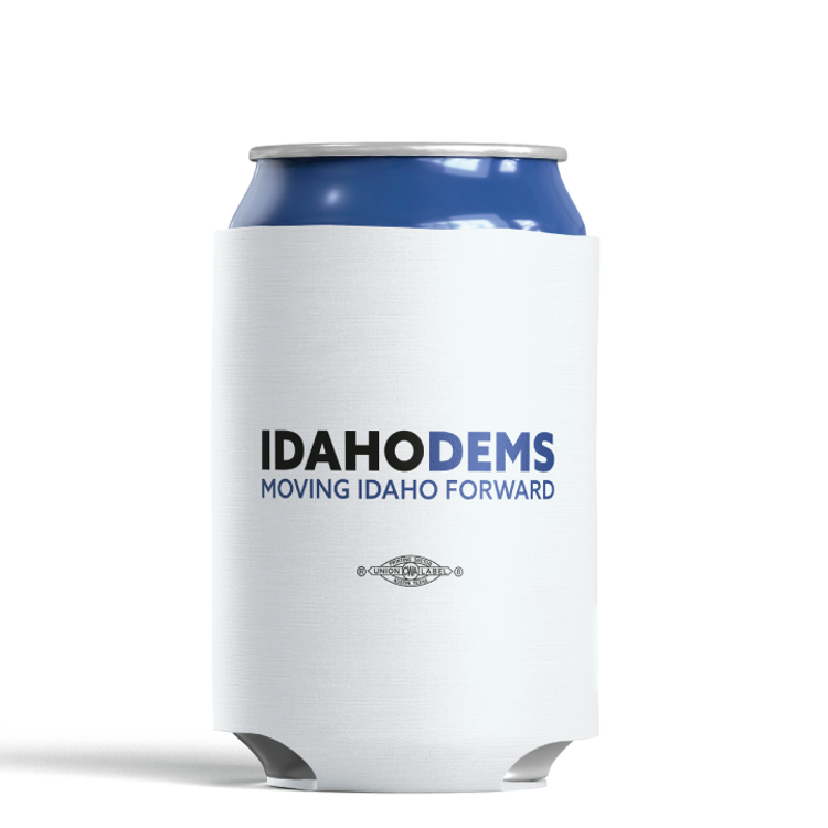 Moving Idaho Forward (White Foam Can Cooler)