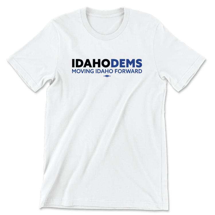 Moving Idaho Forward (Unisex White Tee)