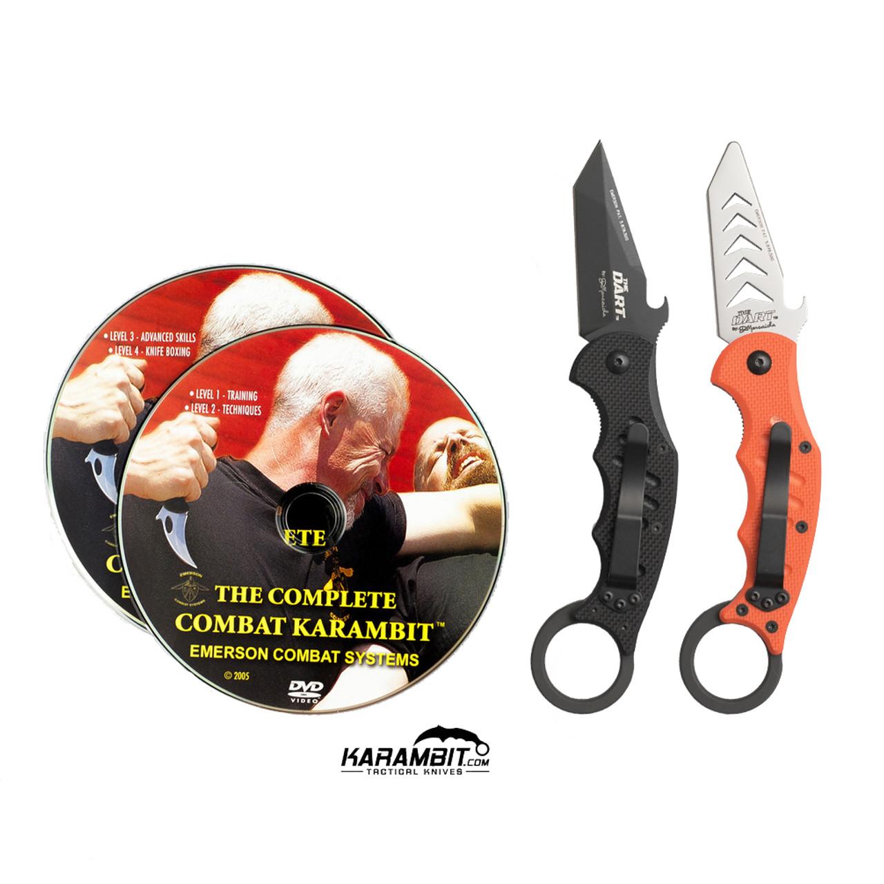 Fox 597 Dart Karambit + Trainer + DVD - 3 in 1 Package