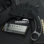 Bastinelli Kalinou PVD Satin Fixed Karambit (BastiKalinouPVDSatin)