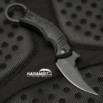 Bastinelli 2019 Folding Black Mako Karambit (BastiFldngMakoBlk)