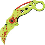 Z-Hunter Blood Splatter Assisted Opening Karambit (ZB051GR)
