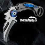James Coogler's Minimalist Karambit Prototype w/Timascus Hardware (CooglerMinimalProtoTimaHardware