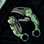 James Coogler's Green Ravager Flipper Karambit (CooglerGreenRavager)