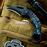 James Coogler's Blacked Out Stryker XL with Blue Ti hardware (CooglerBlckStrkrBlueTi)