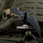 Fox 599Tic Folding Karambit - Emerson Wave