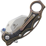 Defcon Jungle Knife Bronze Karambit (TF5221-2)