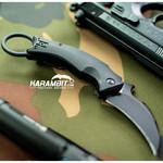 Fox Bastinelli Black Bird Folding Karambit - Emerson Wave (FX-591)