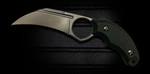 Bastinelli Black Harpy Fixed Karambit (BAS220)
