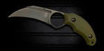 Bastinelli OD Green Harpy Fixed Karambit (BAS220G)