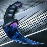 Black Pearl Doppler Honshu Karambit (BKPS8)