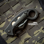 Custom Titanium Pocket Clips for Emerson Knives