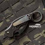 Fox 599 Karambit Titanium Pocket Clip
