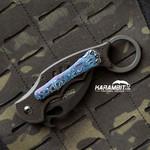 Fox 599 Karambit Timascus Pocket Clip