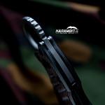Fox 599XT Black G10 Folding Karambit - Emerson Wave (FX599XT)