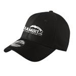 Karambit.com New Era® - Structured Stretch Cotton Hat - Black -  view 2. (KbitHat-BLK)