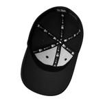 Karambit.com New Era® - Structured Stretch Cotton Hat - Black - inside view. (KbitHat-BLK)
