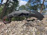 Revo Knives Black K9 Karambit (REVRhnoBLK)