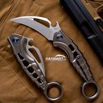 Rike Knife Alien 2 Grey Karambit - Emerson Wave (RKALIEN2G)