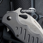 Fox 478 Aluminium Folding Karambit - Emerson Wave (FX478)