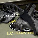 Emerson Black Fixed Blade Karambit (KAR-FX-BT)