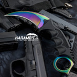 Case Hardened Honshu Karambit w/Shoulder Harness (UC3113)
