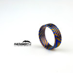James Coogler Timascus Ring Style 3 - Size 10