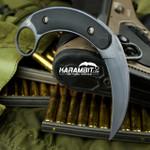 Bastinelli Kalinou PVD Black Fixed Karambit (BastiKalinouPVDBlack)