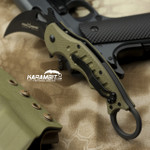 Fox 479 OD Green G10 Folding Karambit - Emerson Wave (FX479OD)