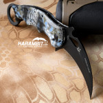 Fox 479KN Neptune Kryptek G10 Folding Karambit - Emerson Wave (FX479KN)