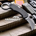 Spyderco Black Karahawk Karambit - Emerson Wave (C170GBBKP)