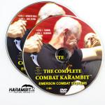 Emerson Black Folding Combat Karambit + Trainer + DVD - 3 in 1 Package (EmersonBlkKbit+EmrsnTrnr+DVD)