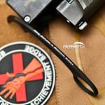 Bastinelli Pika Black Fixed Karambit (BastiPikaBlack)