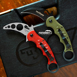 Fox 479 OD Green + Trainer Karambit - 2 in 1 (FX479OD+FX479-TK