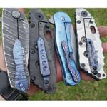 Custom Timascus Pocket Clip