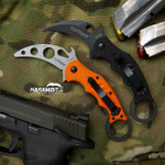 Fox 599 G10 Karambit + Trainer - 2 in 1 Package (FX599 + FX599-TK)
