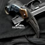 James Coogler's Signed Damascus Mokume Stryker Karambit (CooglerDamMokStryker)