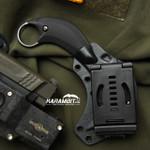 Bastinelli B.A.K Black PVD Fixed Karambit (BastiBAKPVDBlack)