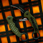 Fox 599 OD Green G10 Folding Karambit - Emerson Wave (FX599OD)