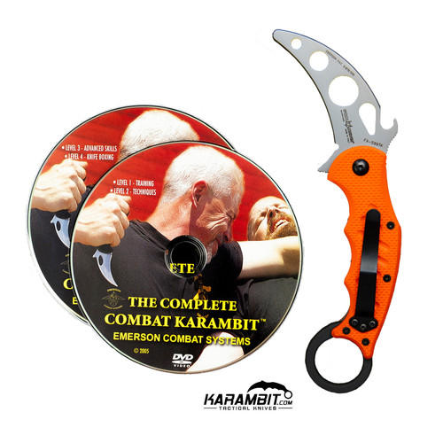 Fox 599 Trainer Karambit + DVD - 2 in 1 Package (FX599-TK+DVD)