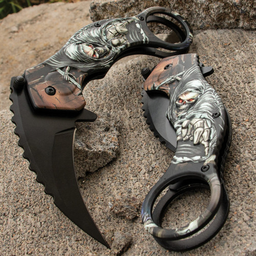 Havoc Assisted Opening Grim Reaper Karambit (BK4586)