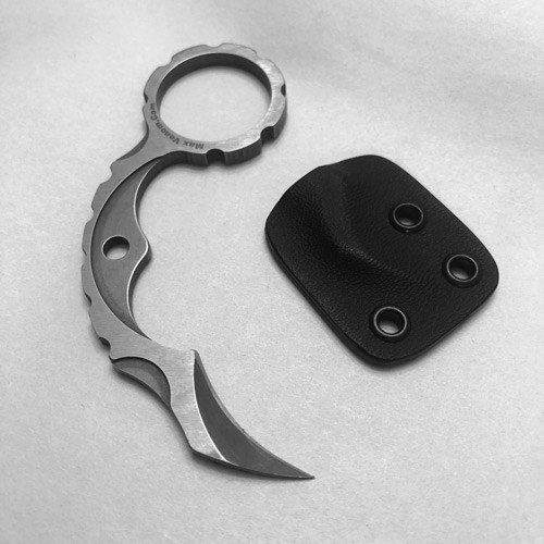 The Max Venom Ti-Bite SS Neck Knife (TiBiteSS)