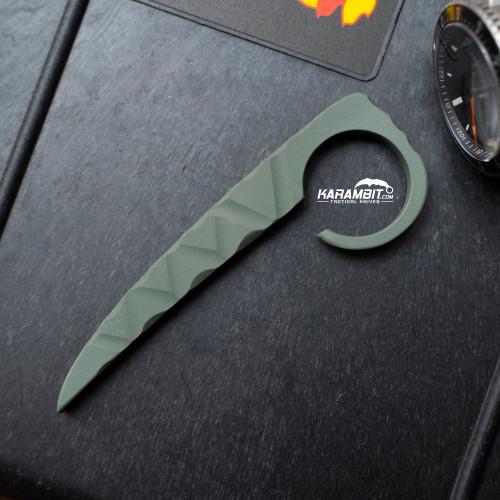Dragon Cut Titanium OD Green Pryrambit (ODPyrmbt)