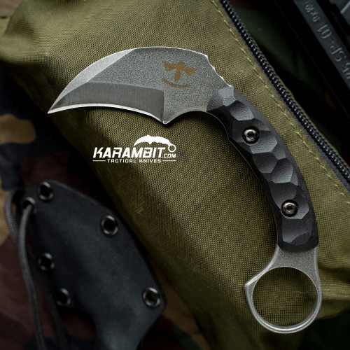 James Coogler's Stone Washed Pincer Prototype Karambit (JCooglerSWPincerkbit)