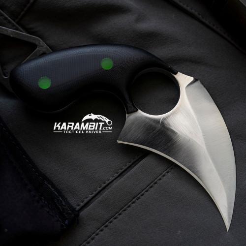 BGBlades Kodiak Ebony Dagger (KodiakEbonyDagger)