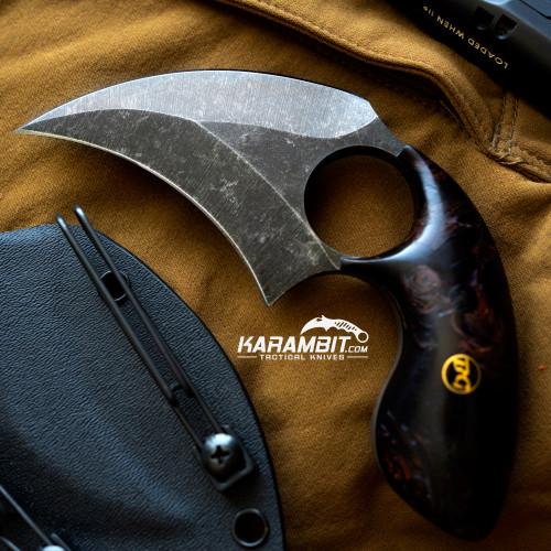 BGBlades Kodiak Burlwood Dagger (KodiakBurlwoodDagger)